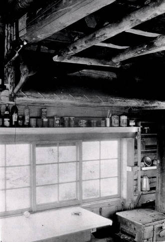 item thumbnail for Interior of Jersey Mountain Lookout cabin. Located 24 miles south by southwest of Elk City, Idaho.