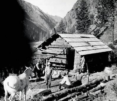 item thumbnail for Sheep Creek cabin.