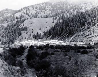 item thumbnail for Panoramic view of Cobalt, Idaho.