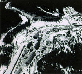 item thumbnail for Aerial view from 2000 feet. Headquarters, Idaho.