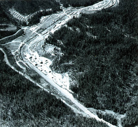 item thumbnail for Aerial view from 5000 feet. Headquarters, Idaho.