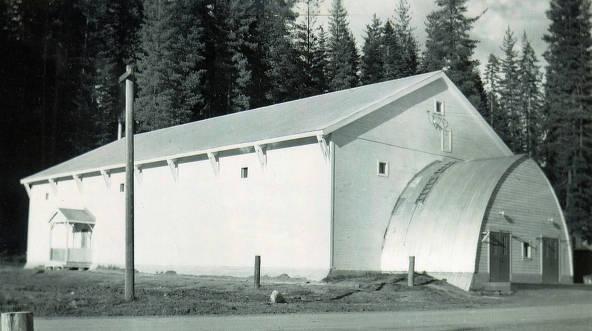 item thumbnail for Hall. Headquarters, Idaho.