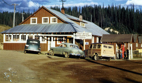 item thumbnail for Post office and variety. Headquarters, Idaho.