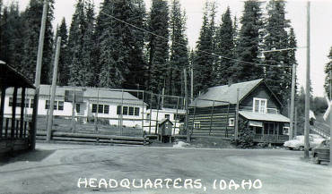 item thumbnail for Store and elementary school. Headquarters, Idaho.
