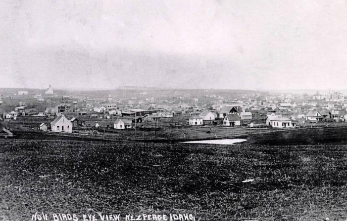 item thumbnail for Birdseye view of Nez Perce, Idaho.