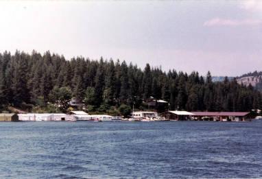 item thumbnail for Harrison Old Time Picnic cruise on the Dancewana. Chatcolet Lake. Harrison, Idaho.