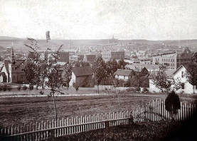 item thumbnail for Panoramic view of Moscow, Idaho looking south by southwest.