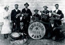 item thumbnail for Challis cornet band. Challis, Idaho.