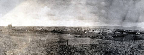 item thumbnail for Panoramic view of Moscow, Idaho. Taken southeast of new Administration building