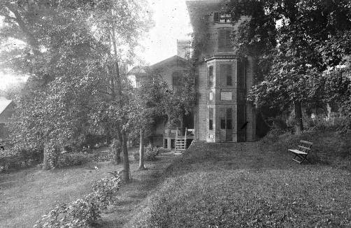 item thumbnail for Rear view of McConnell house at 110 South Adams Street? Moscow, Idaho.