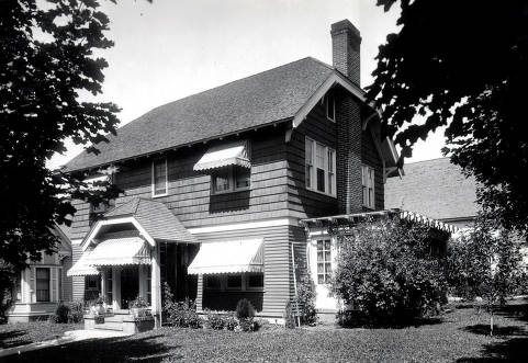 item thumbnail for Harry Driscoll house on South Jefferson Street. Moscow, Idaho.