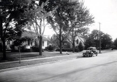 item thumbnail for Houses on East 3rd Street. Moscow, Idaho.