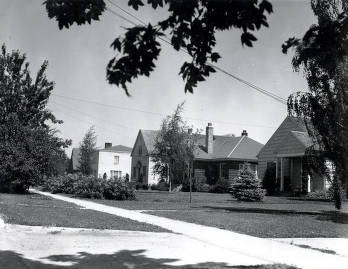 item thumbnail for Houses on South Hayes Street. Moscow, Idaho.