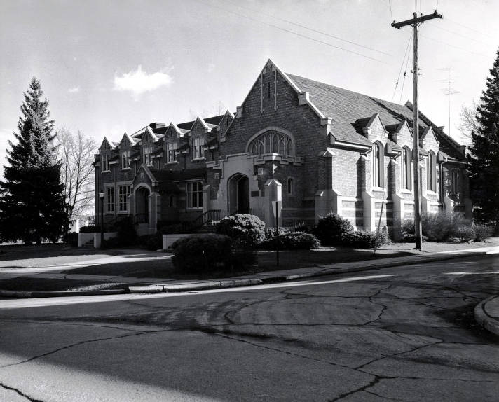 item thumbnail for LDS Institute. Corner of Deakin and University Avenue. Moscow, Idaho.