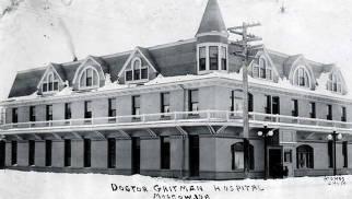 item thumbnail for Gritman Hospital. Moscow, Idaho.