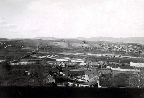 item thumbnail for Aerial view of Latah County Fairgrounds. Moscow, Idaho.