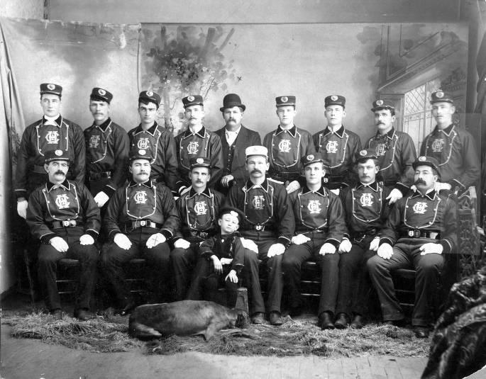 item thumbnail for Group picture of Moscow Fire Department.