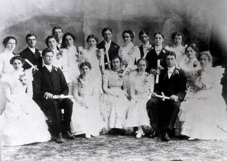 item thumbnail for Graduating class of 1899. Moscow High School. Moscow, Idaho.