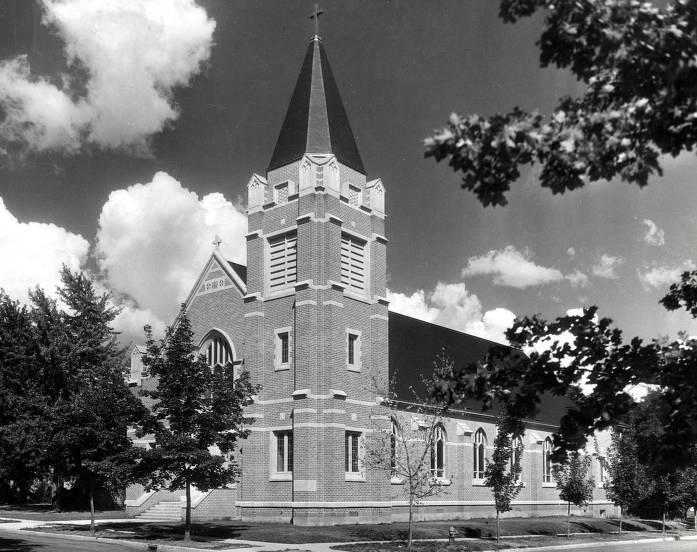 item thumbnail for St. Mary's Catholic Church. Moscow, Idaho.