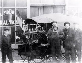 item thumbnail for Lamb Bros. General Machinist and Blacksmithing. Harrison, Idaho.