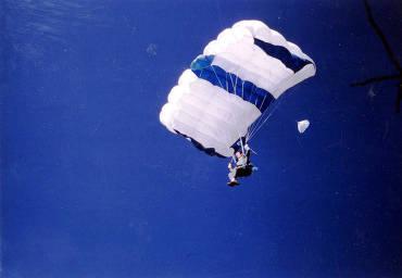 item thumbnail for Parachutist. Mardi Gras. Moscow, Idaho.