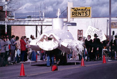 item thumbnail for Entry in Mardi Gras parade. Moscow, Idaho.