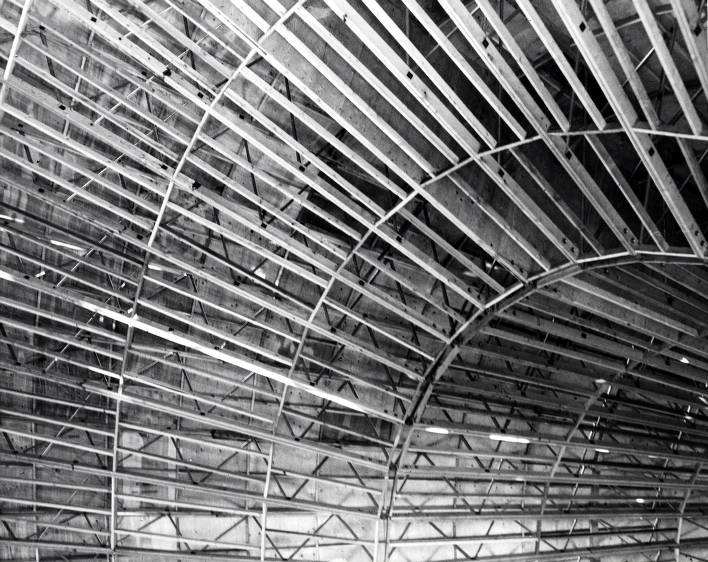 item thumbnail for Copy print of St. Augustine's Catholic Church. Dome construction from inside. Moscow, Idaho.