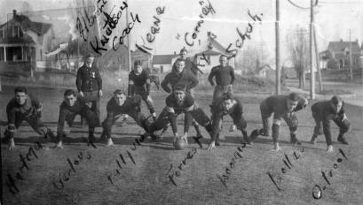 item thumbnail for Football team at Moscow High School. Moscow, Idaho.