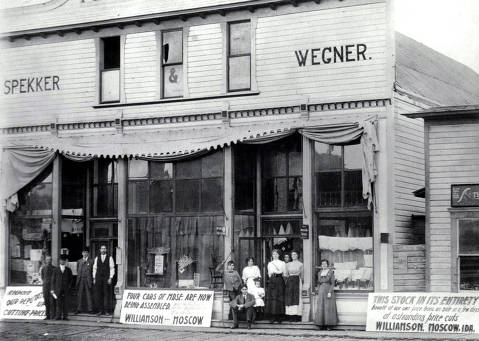 item thumbnail for Williamson's General Merchandise. Moscow, Idaho.