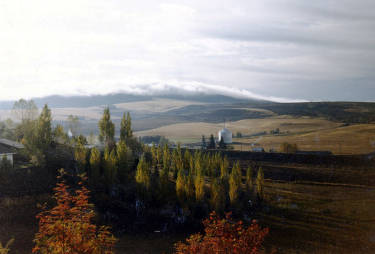item thumbnail for Scenic view of Moscow, Idaho. Taken from Ridge Road and Walenta Drive intersection. Paradise Ridge in background.