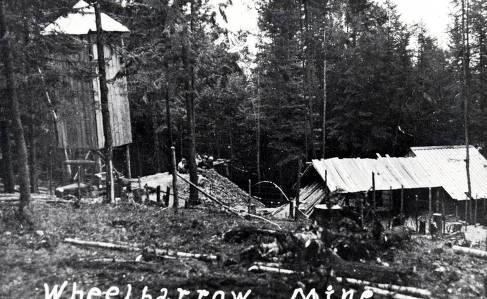 item thumbnail for Lost Wheelbarrow Mine. Moscow, Idaho.