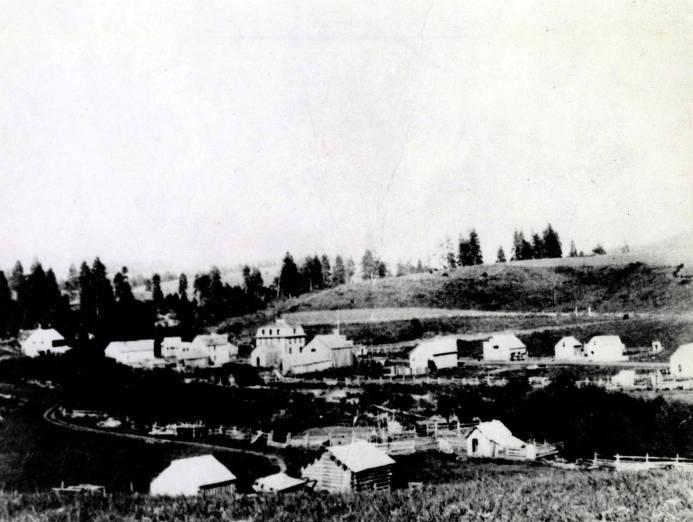 item thumbnail for Panoramic view of Viola, Idaho.