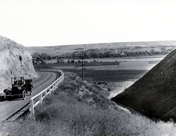 item thumbnail for Highway 95 on the Lewiston Hill.