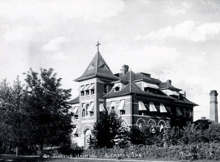 item thumbnail for St. Joseph's Hospital. Lewiston, Idaho.