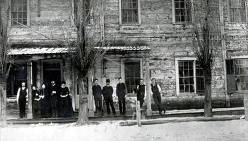 item thumbnail for Group of people in front of building. Lewiston, Idaho