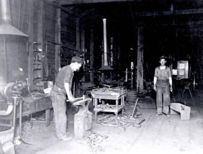 item thumbnail for Interior of J.P. Fitzgerald Blacksmith Shop. Grangeville, Idaho.
