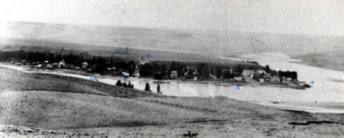 item thumbnail for Birdseye view of Lewiston, Idaho.