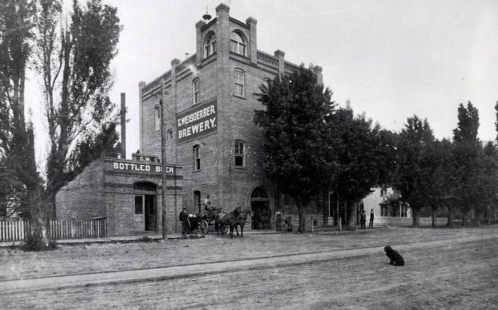 item thumbnail for C. Weisgerber Brewery. Lewiston, Idaho.