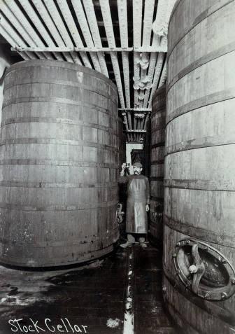 item thumbnail for Stock cellar. C. Weisgerber Brewery. Lewiston, Idaho.