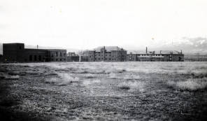 item thumbnail for Albion State Normal School. Approach from northwest. Albion, Idaho.