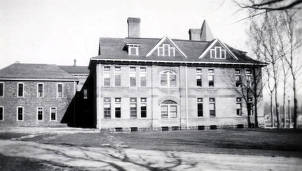 item thumbnail for Albion State Normal School. West side of old Administration Building. Albion, Idaho.