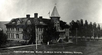 item thumbnail for Albion State Normal School. Old Administration Building. Albion, Idaho.