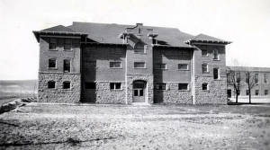 item thumbnail for Albion State Normal School. South side of gymnasium. Albion, Idaho.