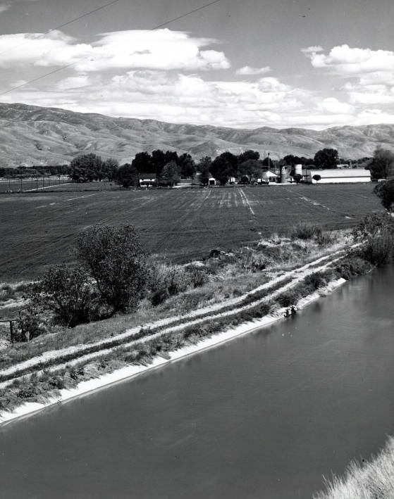 item thumbnail for Triangle Dairy located 3 miles east of Boise, Idaho.
