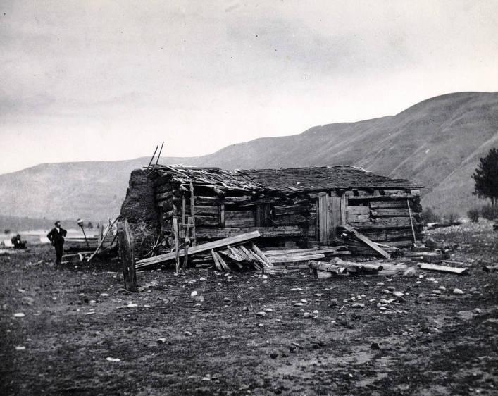 item thumbnail for Spalding cabin (1837- ). Lapwai, Idaho.