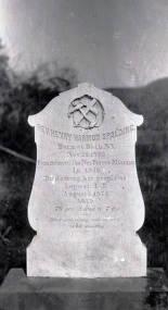 item thumbnail for Gravestone of Reverend Henry Harmon Spalding (1803-1874). Lapwai, Idaho.