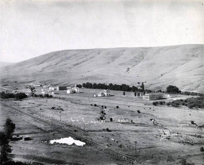 item thumbnail for Panoramic view of Fort Lapwai, Idaho.