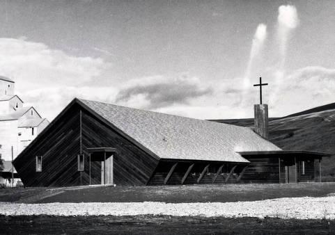 item thumbnail for Catholic church. Lapwai, Idaho.