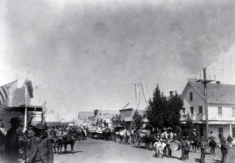 item thumbnail for 4th of July parade. Grangeville, Idaho.