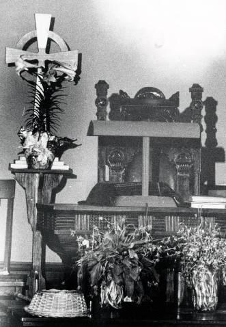 item thumbnail for Altar in Kamiah Presbyterian Church. Kamiah, Idaho.